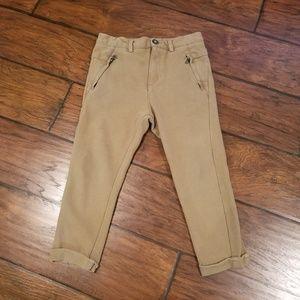 Zara boys khaki bottoms